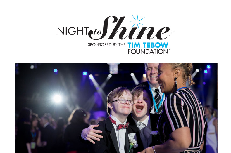 Tebow's Night To Shine Ministry | Celebrating People With