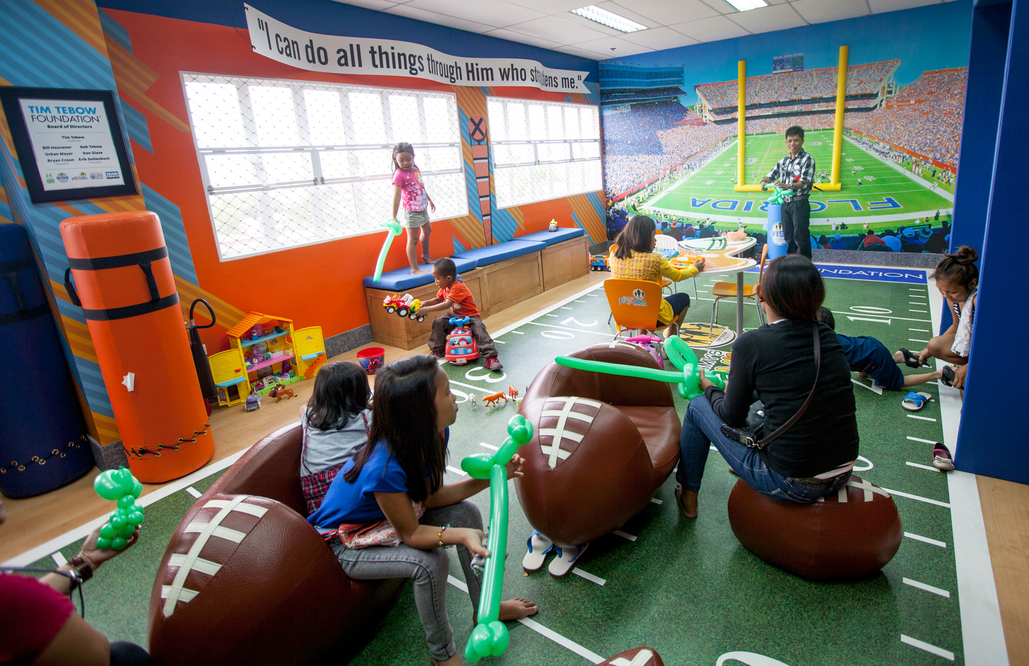 Timmy S Playrooms In Children S Hospitals Around The World
