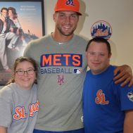 Judy & Matthew Meet Tim Tebow prior to a St. Lucie Mets Game.JPG