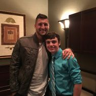Chase Smith W15H with Tim Tebow - 2015.JPG