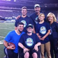 Taylor Becorest W15H with Tim Tebow - 2012.JPG